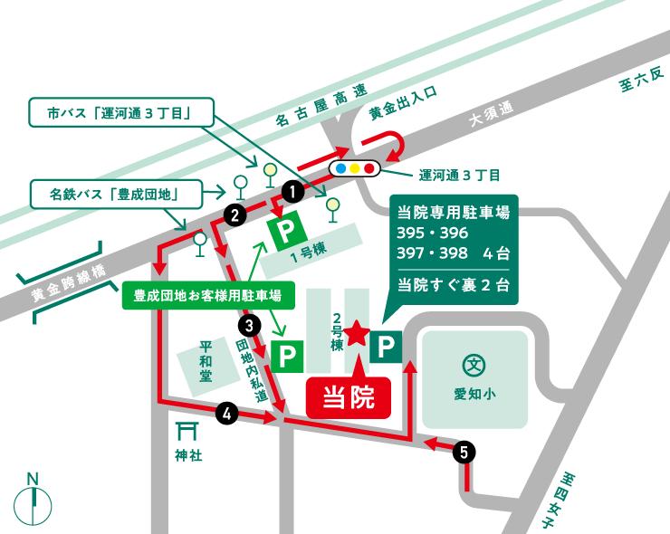 駐車場案内地図